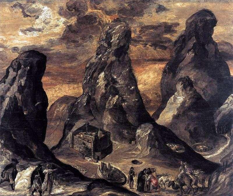 Góra Synaj   El Greco