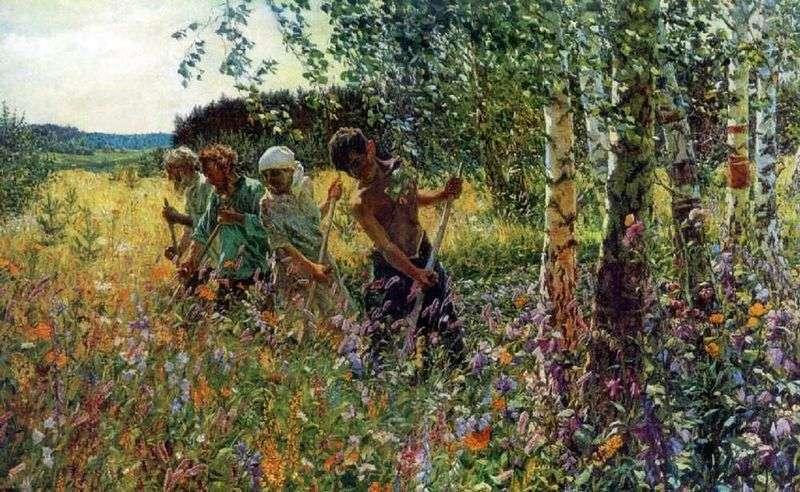 Sianokosy   Arkady Plastov