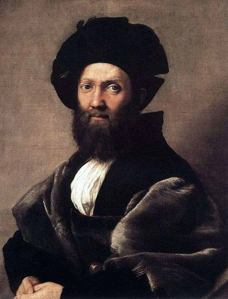 Portret Baldassare Castiglione   Rafael Santi