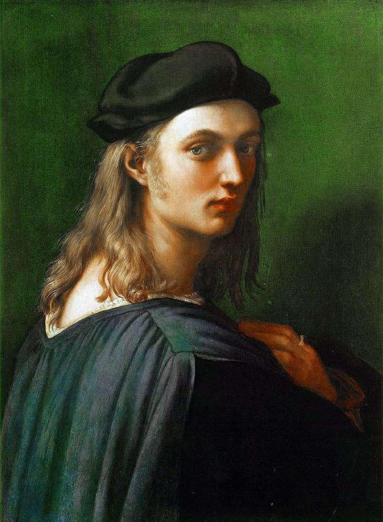 Portret Bindo Altoviti   Rafael Santi
