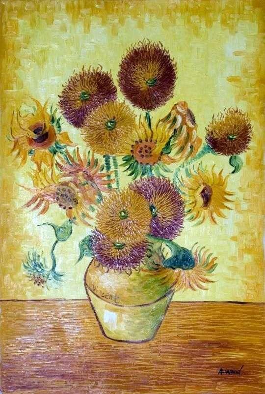 Słoneczniki Sierpień   Vincent Van Gogh