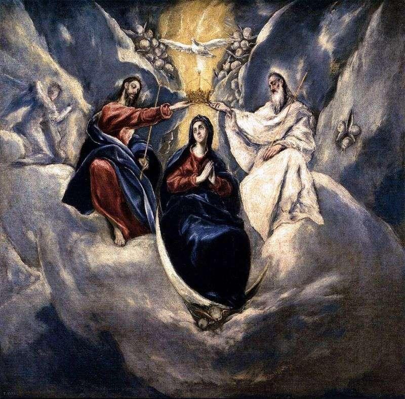 Koronacja Marii Panny   El Greco