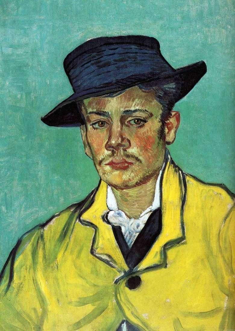 Portret Arman Roulin   Vincent Van Gogh