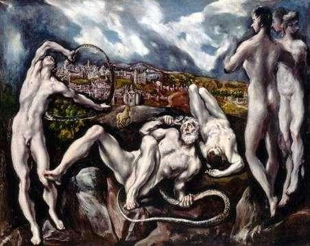 Laocoon   El Greco