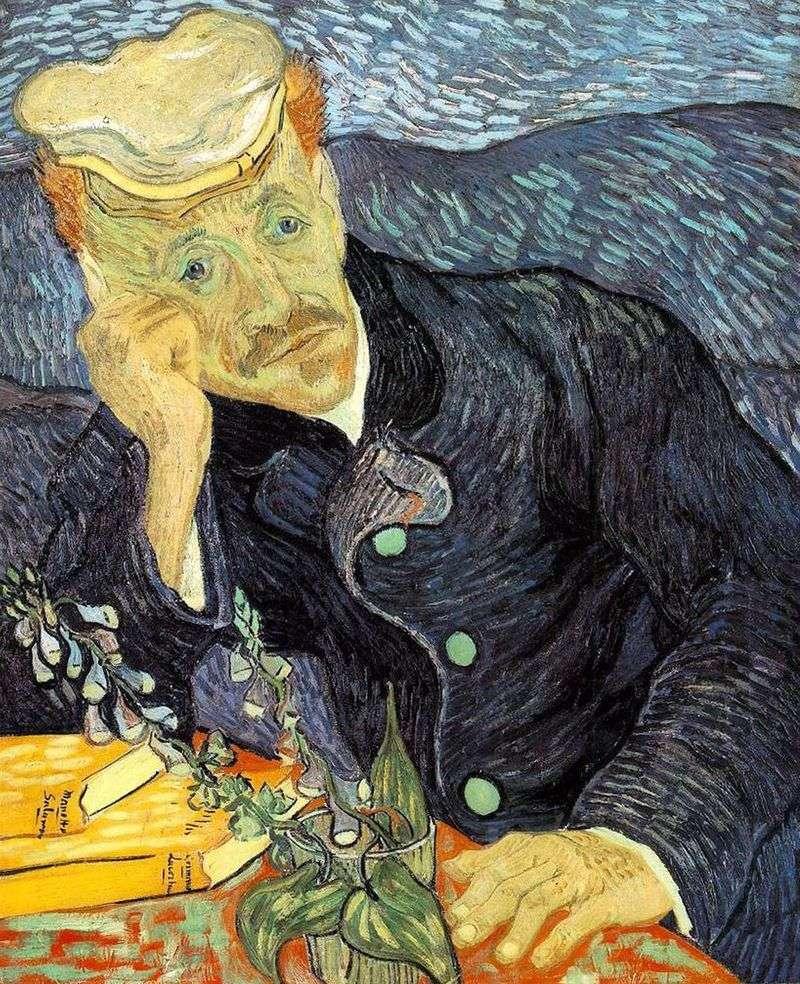 Portret dr Gachet   Vincent Van Gogh