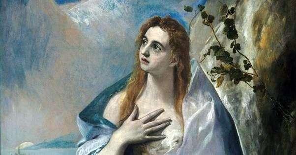 Maria Magdalena   El Greco