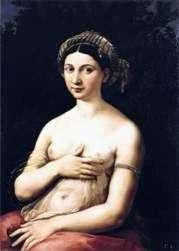 Portret młodej kobiety lub Fornarin   Rafael Santi
