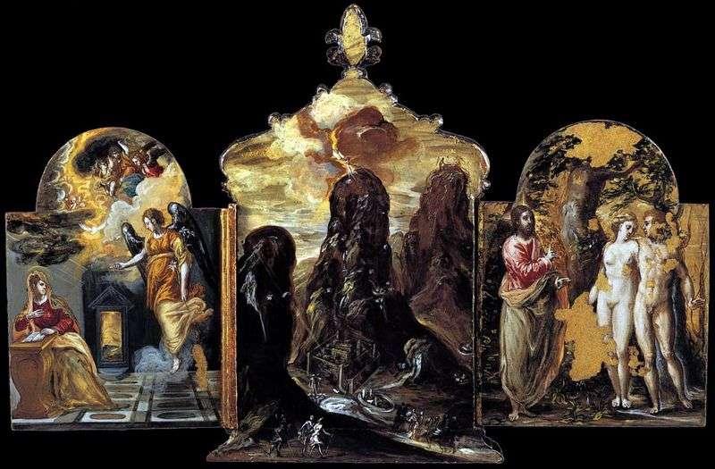 Modena Tryptyk   El Greco