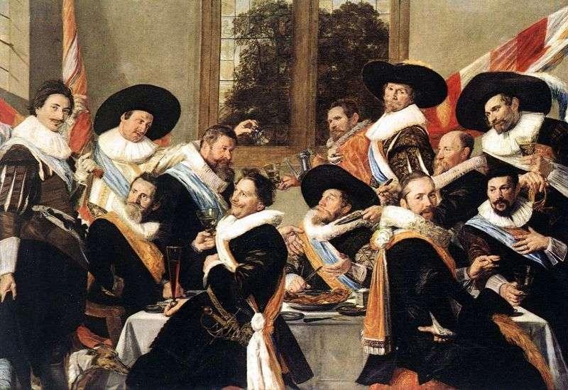 Bankierów oficerów firmy sv. Adriana   Frans Hals