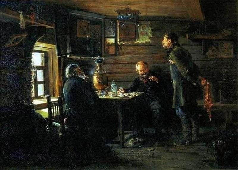 Miłośnicy słowików   Konstantin Makovsky