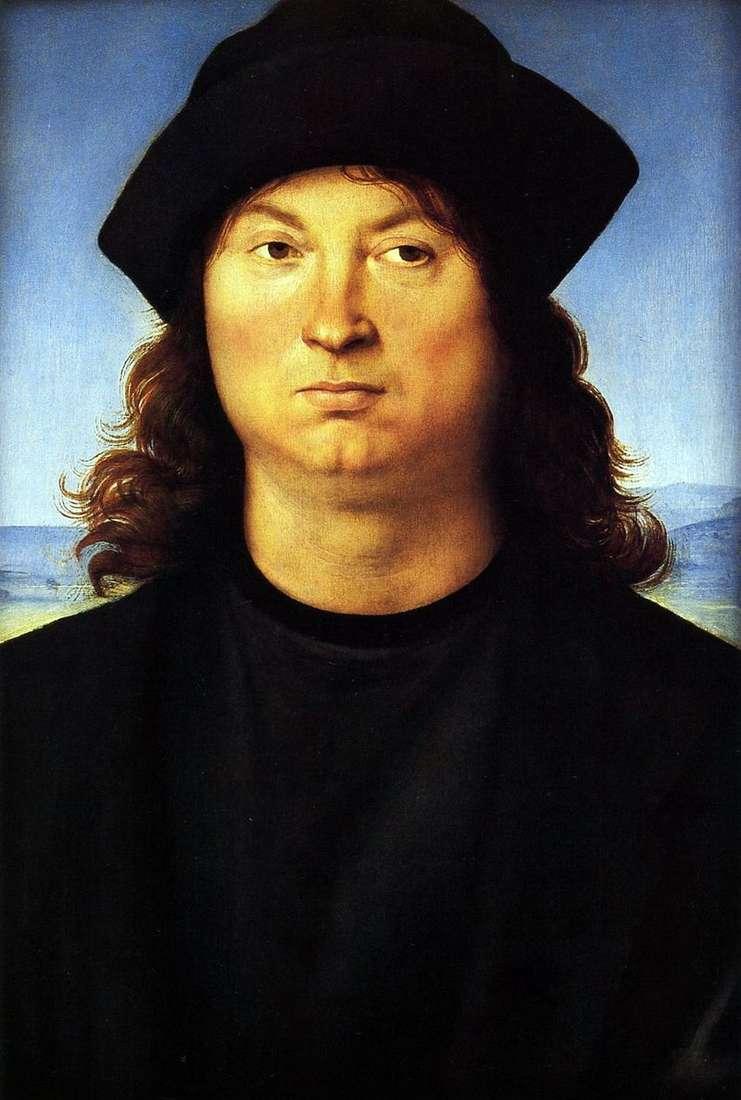 Portret mężczyzny   Rafael Santi