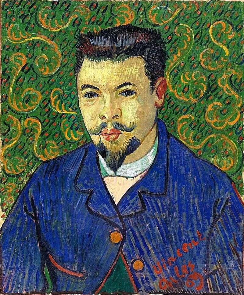 Portret doktora Felixa Raya   Vincenta Van Gogha