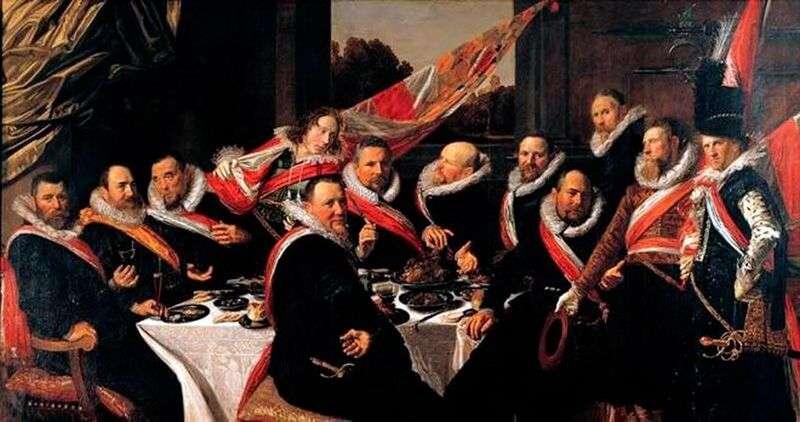 Bankierów oficerów firmy sv. George   Frans Hals
