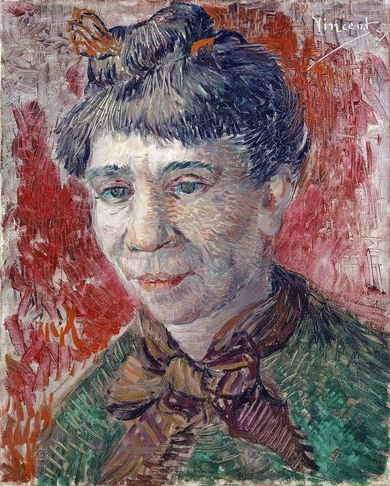 Portret kobiety   Vincent Van Gogh