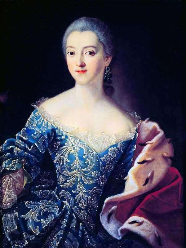 Portret księżniczki E. A. Lobanova Rostovskaya   Ivan Argunov