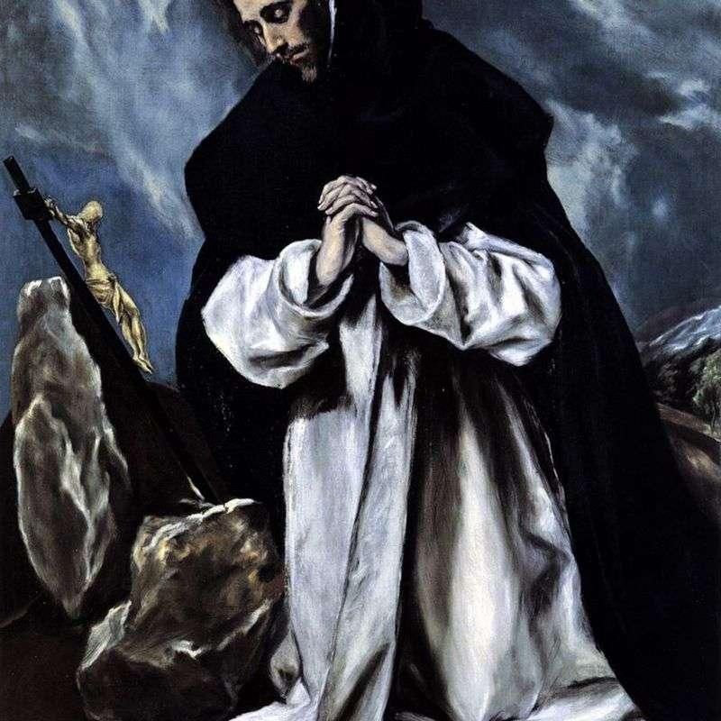 Modlitwa św. Dominika   El Greco