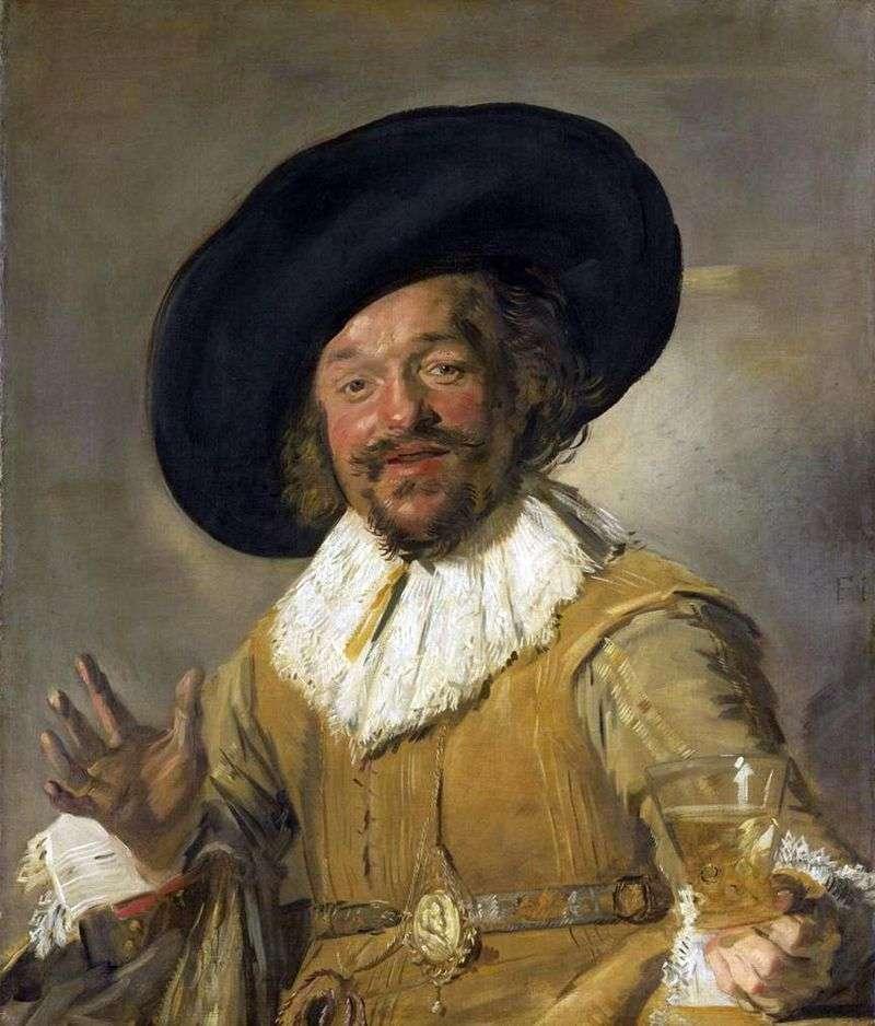 Wesoły towarzysz   Frans Hals