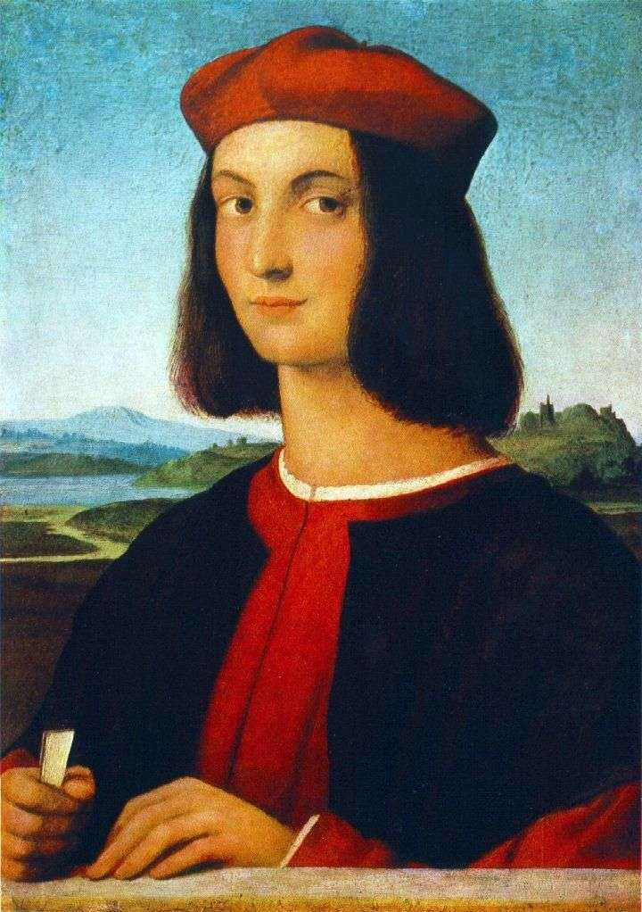Portret Pietro Bembo   Rafael Santi