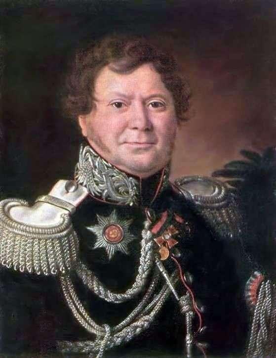Portret N. N. Muravyev   Ivan Argunov