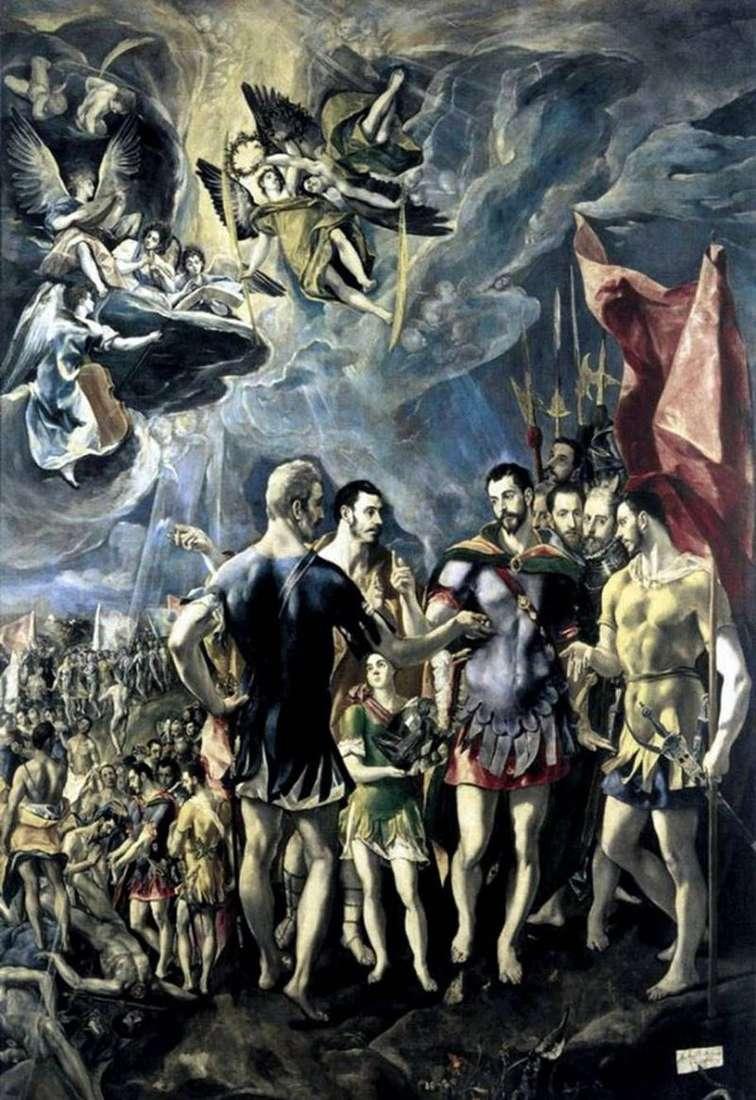 Męczeństwo Świętego Maurycego   El Greco