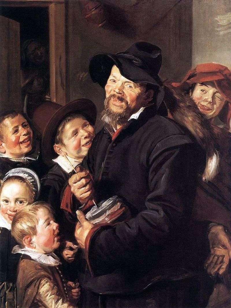 Potter muzyk   Frans Hals