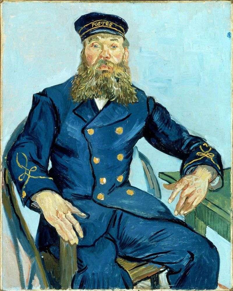 Portret Josepha Roulina   Vincenta Van Gogha