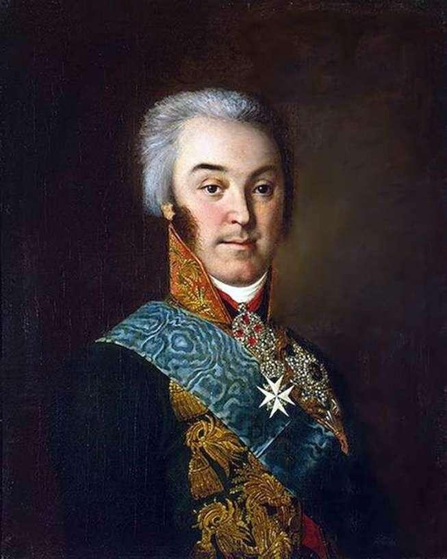 Portret N. Szeremietiewa   Iwan Argunow