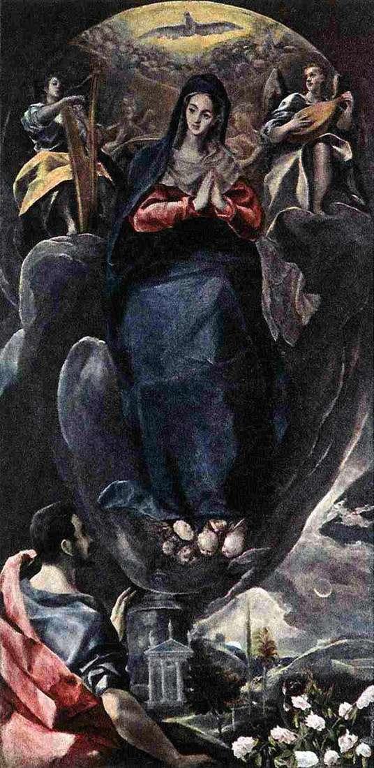 Niepokalane Poczęcie   El Greco