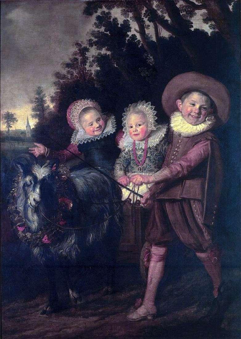 Grupa dzieci   Frans Hals
