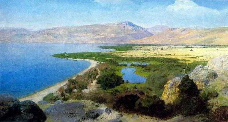 Lake Genisaret   Wasilij Polenow