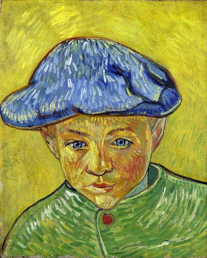 Portret Camille Roulin   Vincent Van Gogh