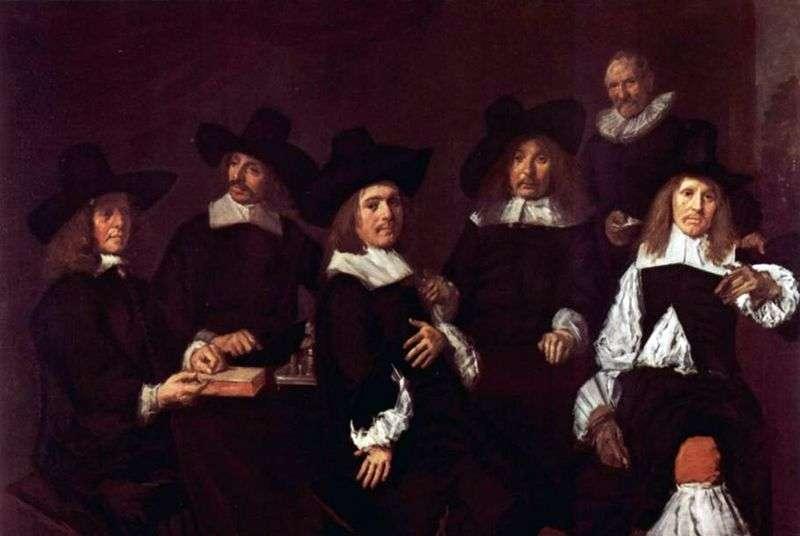 Portret grupowy   Frans Hals