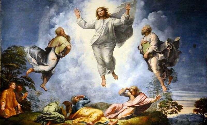 Przemienienie Chrystusa   Rafael Santi