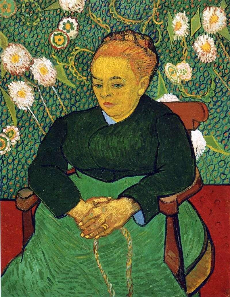 Portret Madame Augustine Roulin   Vincent Van Gogh