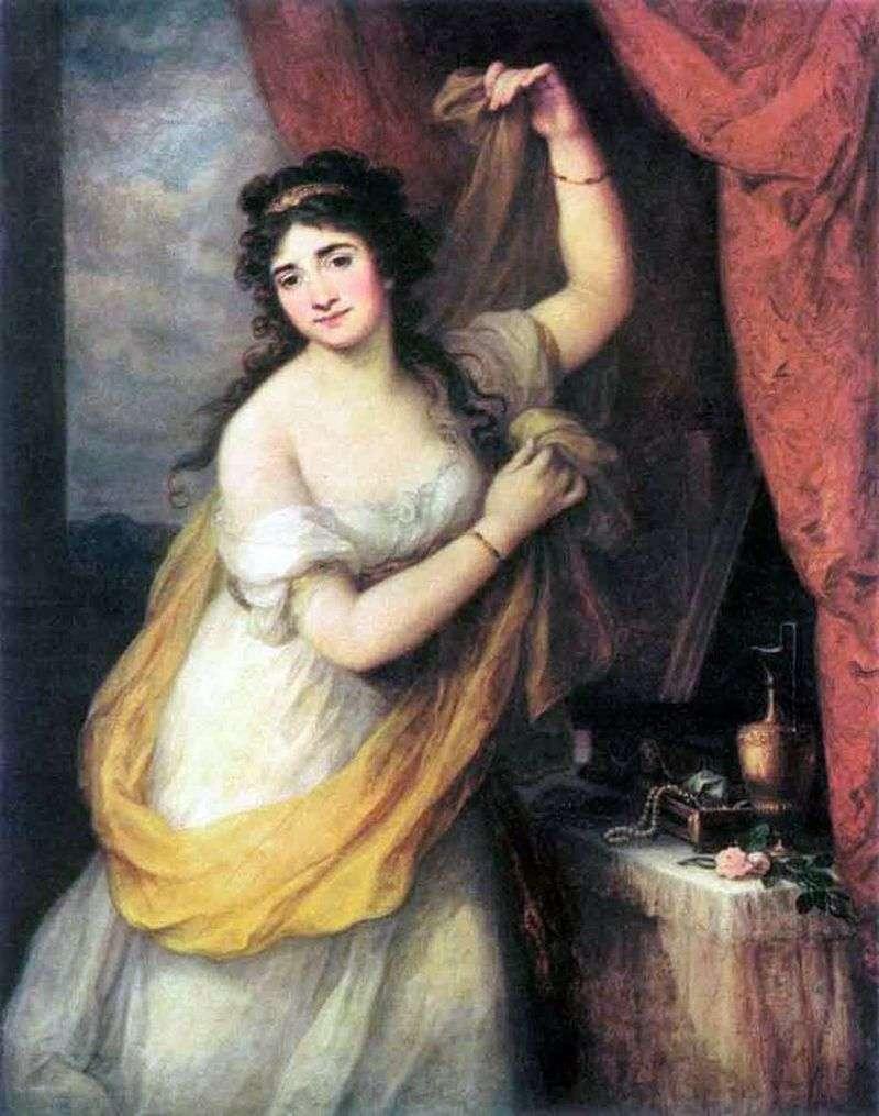 Księżniczka Esterhazy   Angelika Kaufman