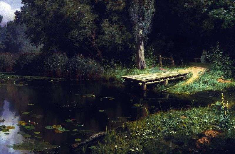 Zarośnięty staw   Wasilij Polenow
