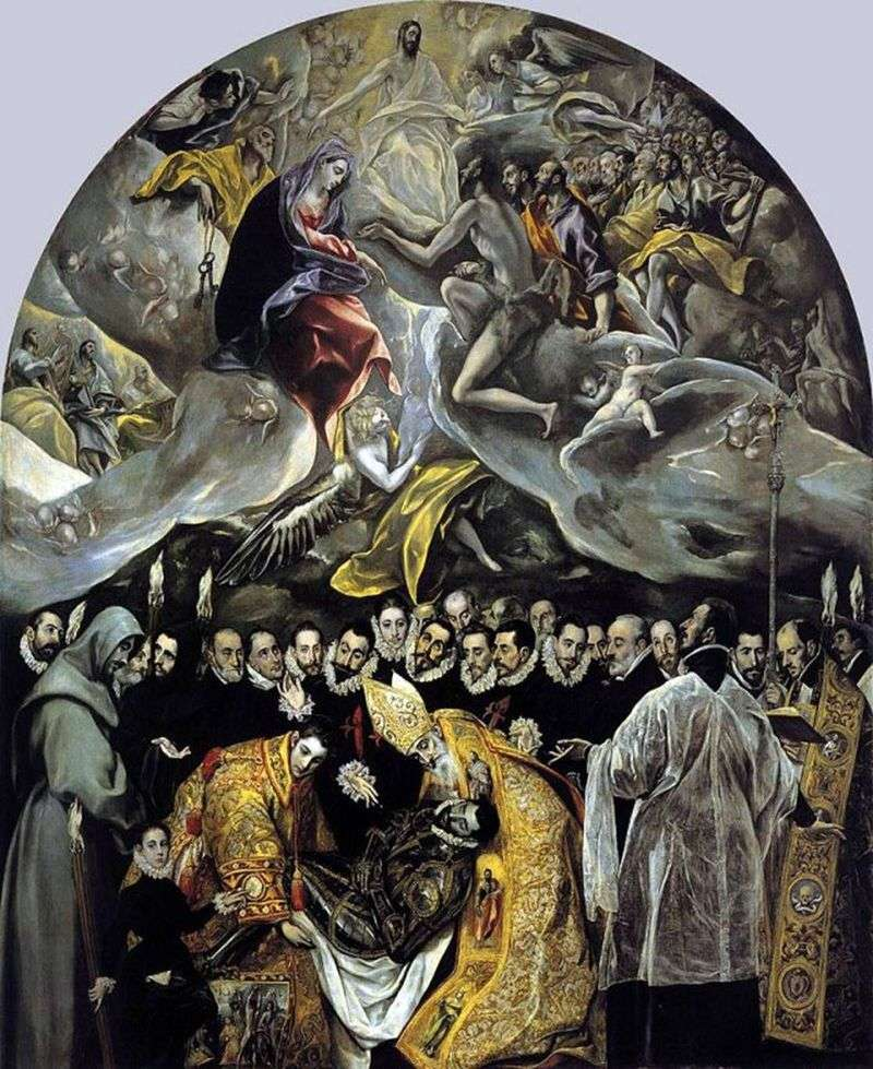 Pogrzeb hrabiego Orgaza   El Greco