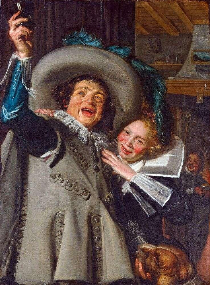 Cavalier Ramp i jego kochanek   Frans Hals