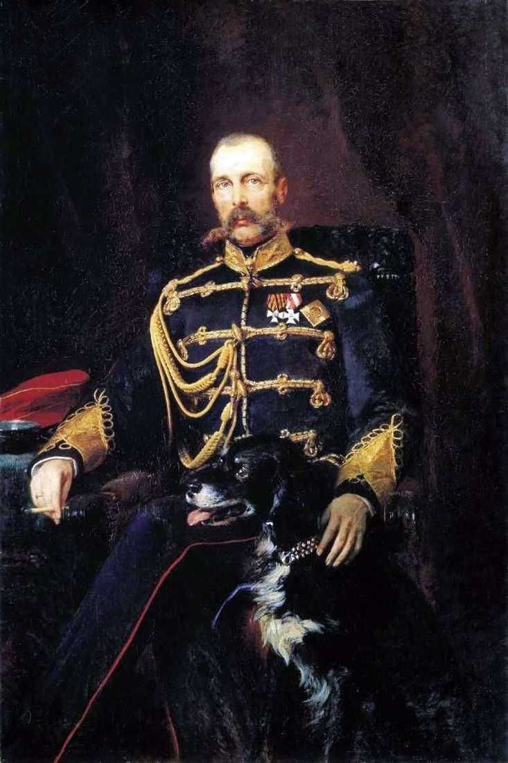 Portret Aleksandra II   Konstantin Makowski
