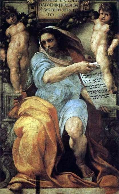 Prorok Izajasz   Rafael Santi