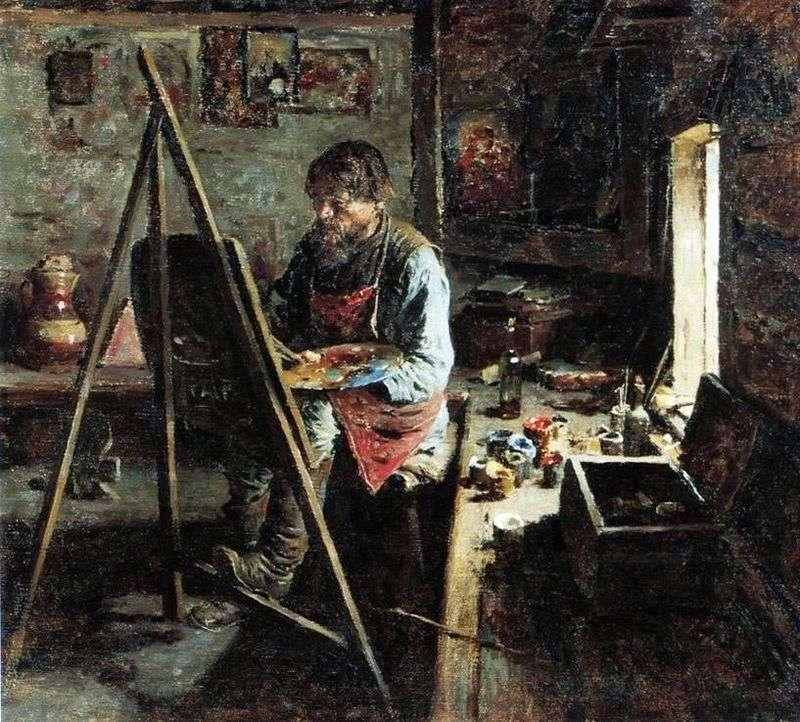 Wiejski malarz ikon   Abram Arkhipov