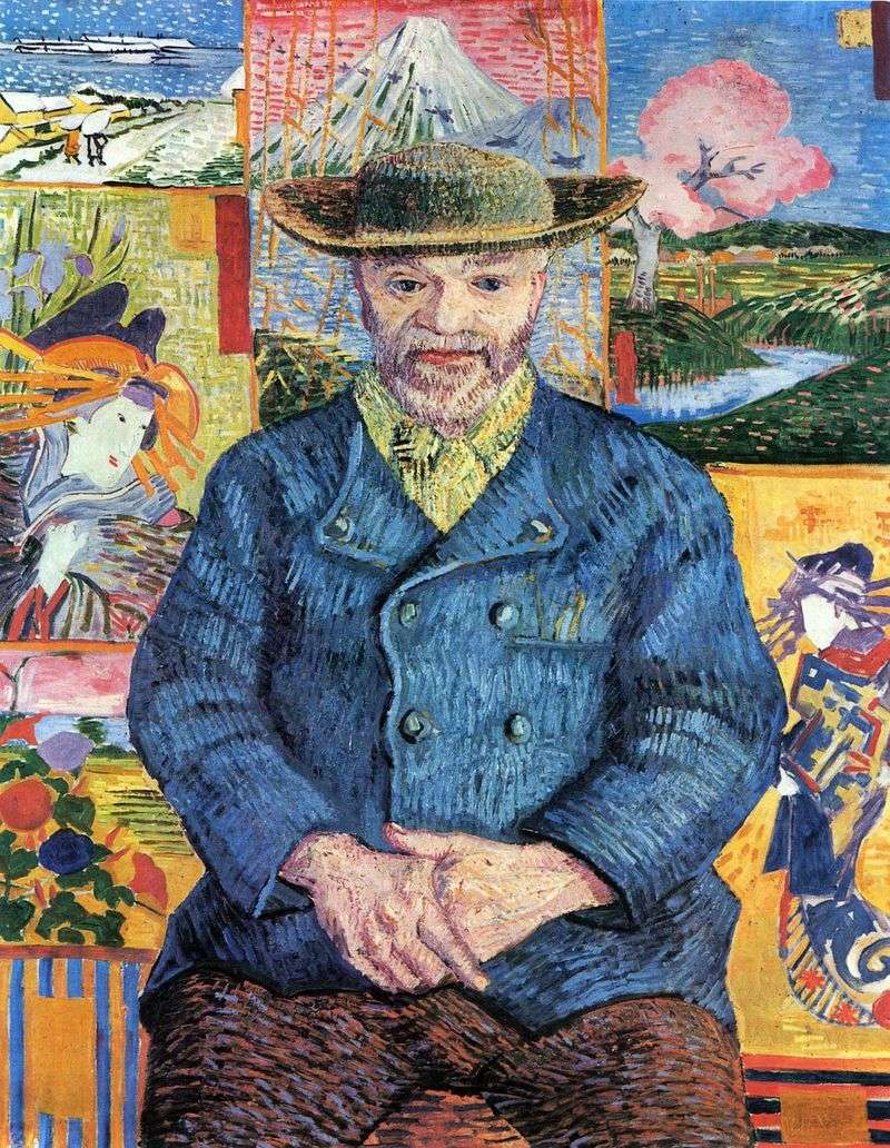 Portret Papa Tanguy   Vincent Van Gogh