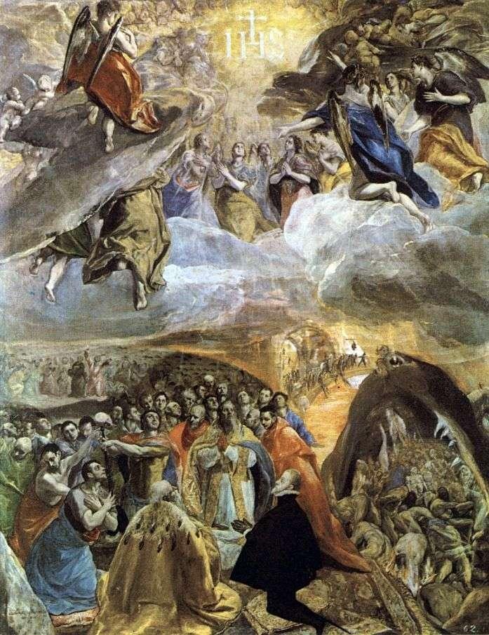 Adoracja imienia Chrystusa   El Greco