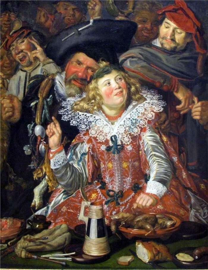 Pancake week party   Frans Hals