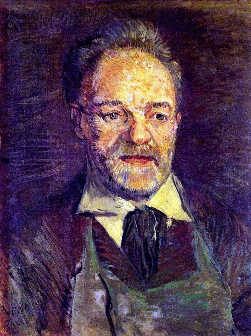 Portret Papa Tanga II   Vincent Van Gogh