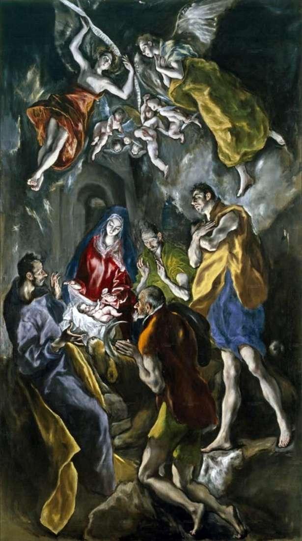 Adoracja Pasterzy   El Greco