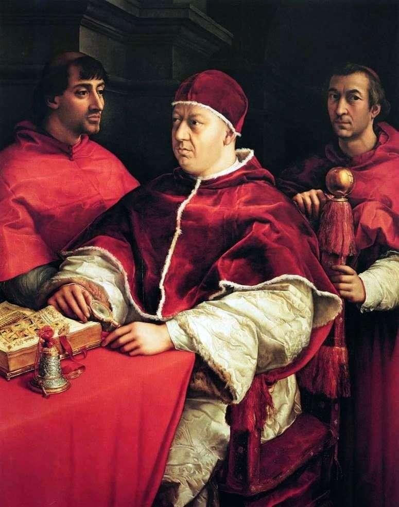 Santi Leo X   Rafael Santi