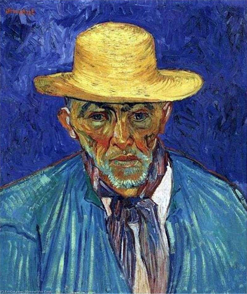 Portret Pasterza z Prowansji Pasjans Escalier   Vincent Van Gogh
