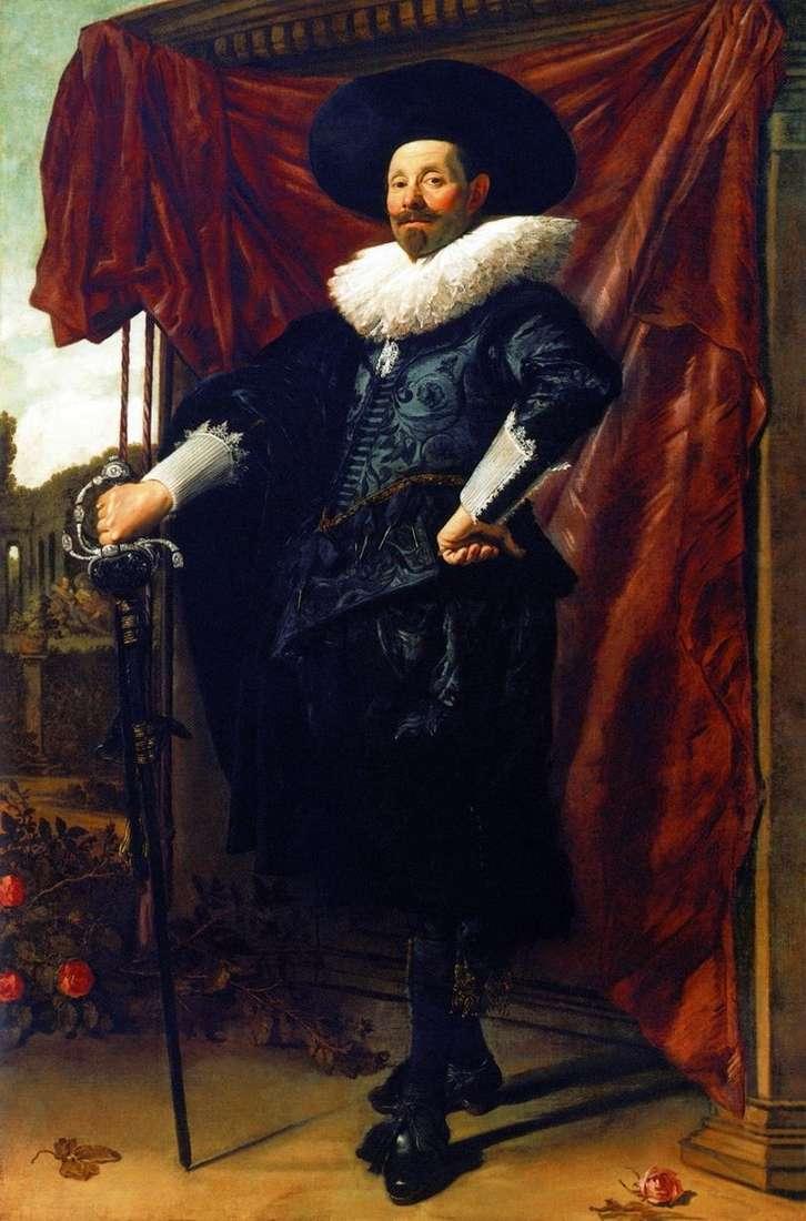 Portret Willema van Heitheissena   Fransa Halsa