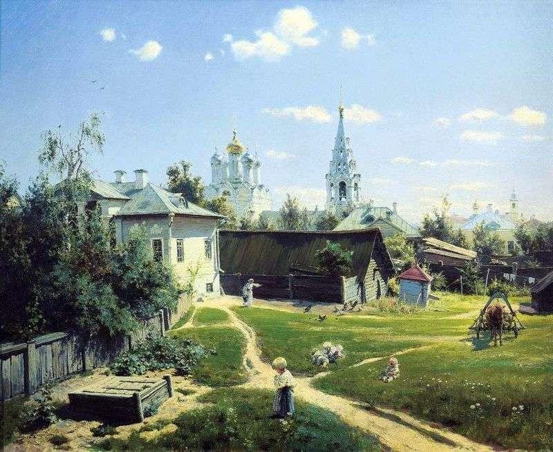 Moskwa Yard   Wasilij Polenow